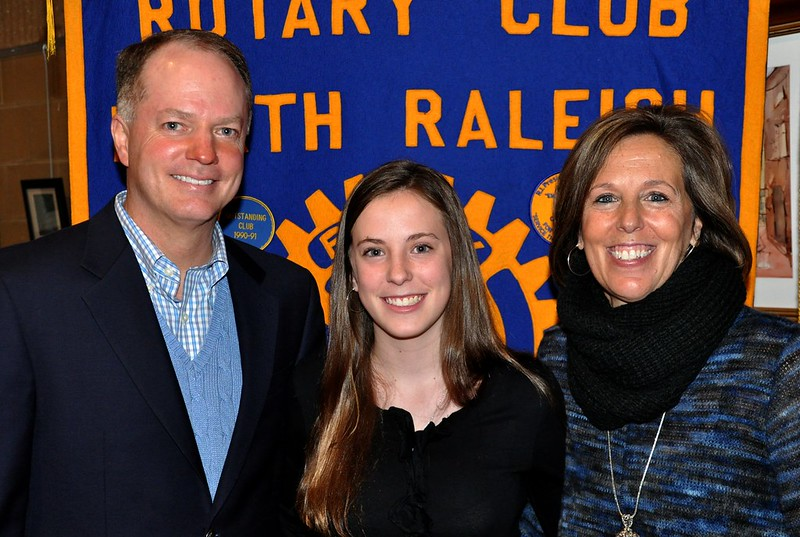 rotary against drugs speech contest rotary club of north  l r shawn mercer dad of daughter ashley and ashely s mom sherri