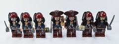 Lego Jack Sparrow family