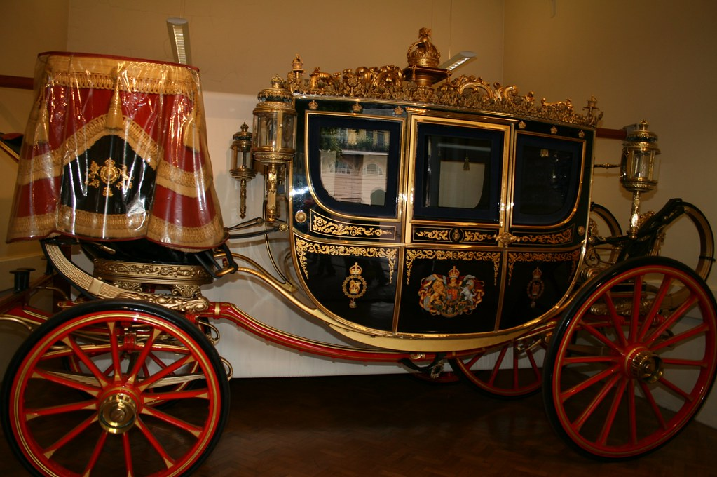 The Irish State Coach at the Royal Mews. Credit Steve F-E-Cameron