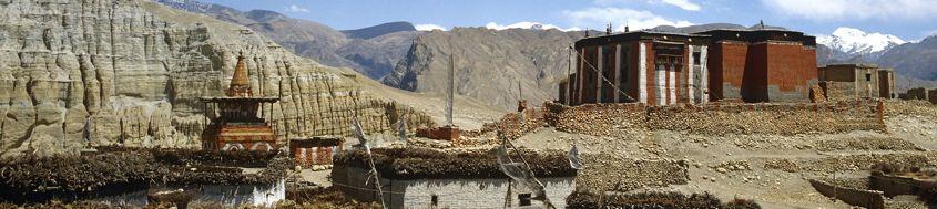 Nepal, Mustang-Trekking in den Damodar Himal und zum Saribung Peak, 6346 m. Foto: Archiv Härter.