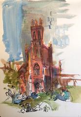 Sketches from Yerba Buena Gardens, San Francisco