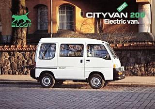 1995 Elcat Cityvan 200 Electric Van (Finland)