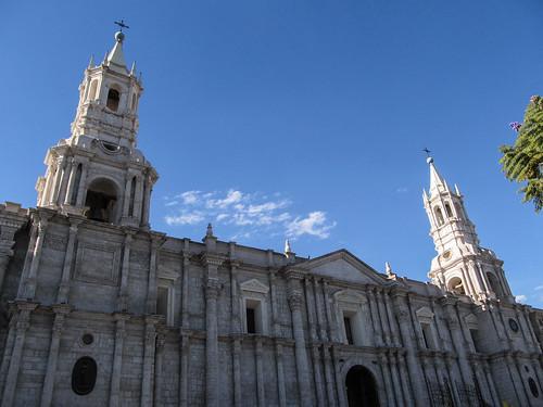 Arequipa: la Cathédrale
