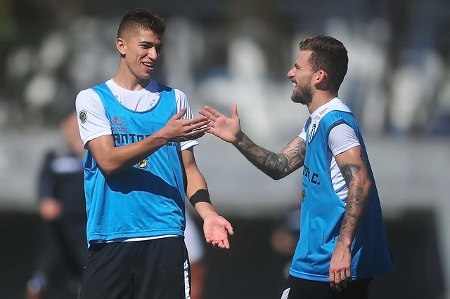 Vitor Bueno e Lucas Lima