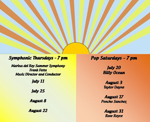 Burton Chace Park Summer Concert Schedule 2013