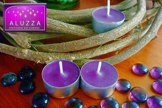 velas tea lights aromaticas para decoracion de eventos aluzzza