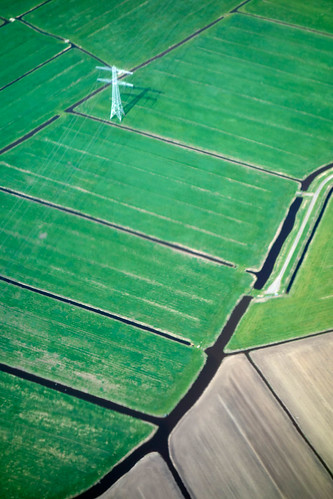 The Netherlands from the air