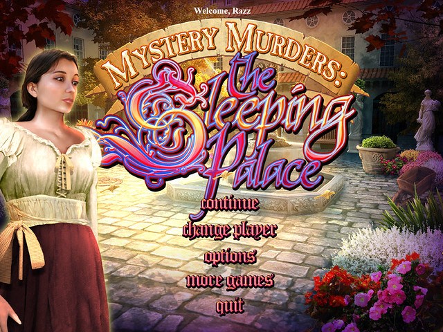 Mystery Murders: The Sleeping Palace PC Game Cover