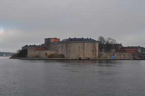2011.11.12.304 - Stockholms skärgård - VAXHOLM - Strömma Kanalbolaget (Lilla Skärgårdsturen) - Vaxholms fästning