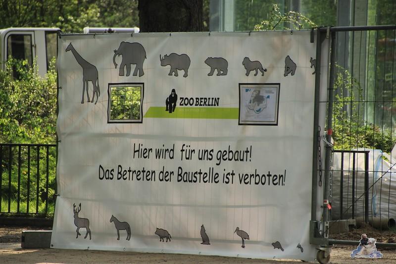 toll nach 9 Monaten Baustelle bei den Bären gibt es jetzt ein Schild :-)