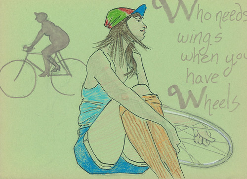 Dr Sketchy's Wheels & Wings
