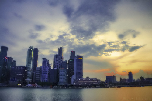Marina Bay Sunset