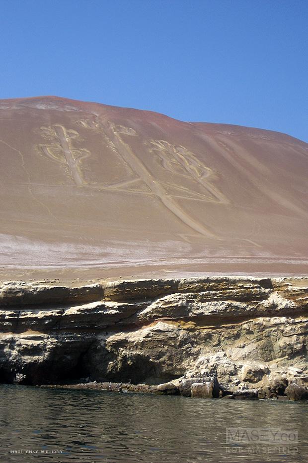 'El Candelabro' - Paracas Peninsula, Peru.