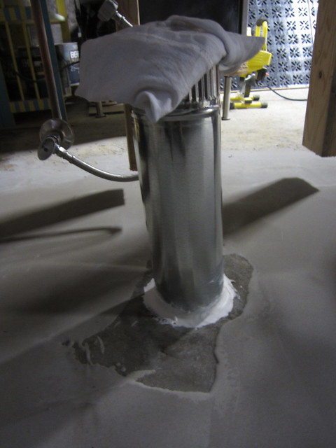 Do i need to use self leveling concrete