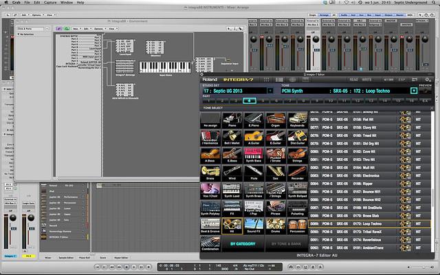 Logic Pro 9 with Roland's Integra 7 sound module - Logic Pro Help