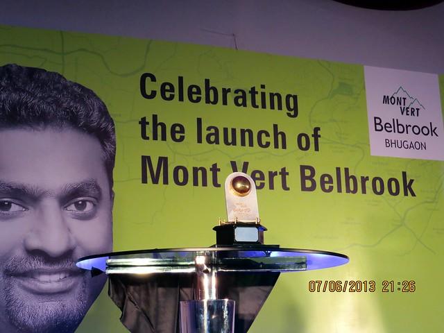 Murali - Muthiah Muralidaran - at Mont Vert Belbrook, Bhugaon, Pune 411042