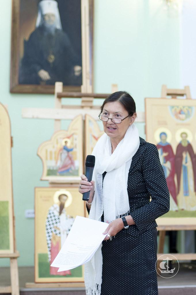 11 июня 2013, Защита дипломных работ иконописного отделения