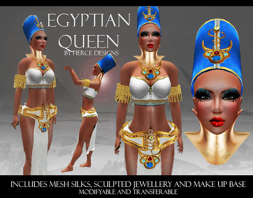 Egyptian Queen By Fierce Designs
