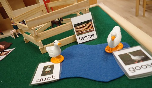 Initial Grammar Farm Labels (Photo from To the Lesson!)