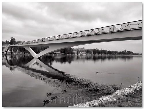 Ponte pedonal Pedro&Ines (v2) by VRfoto
