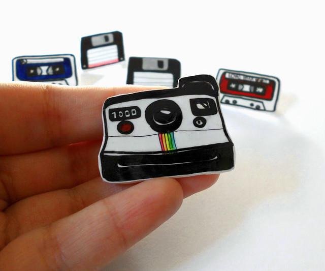 Retro spille - Polaroid