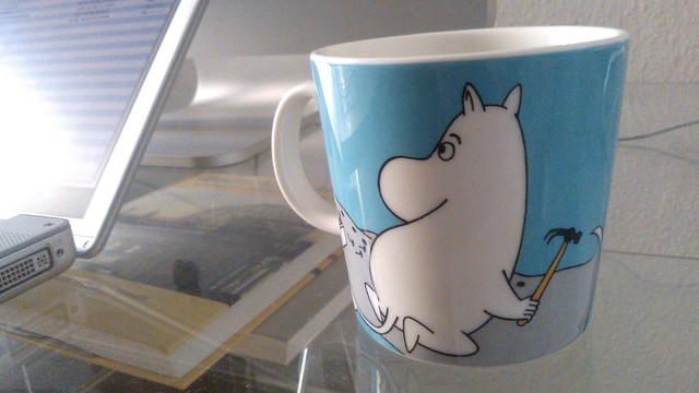 Moomin working