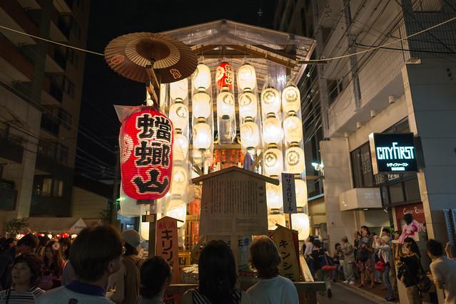 祇園祭 宵山 蟷螂山