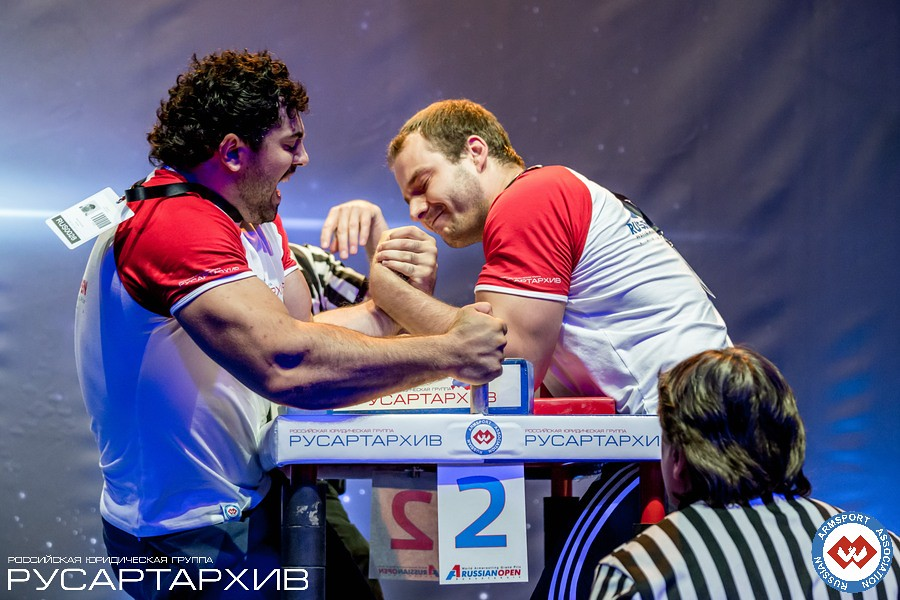 Murat Kariaev vs. Ivan Matyushenko │ A1 RUSSIAN OPEN 2013, Photo Source: armsport-rus.ru
