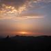 Atardecer desde La Degollada Becerra Tejeda Gran Canaria