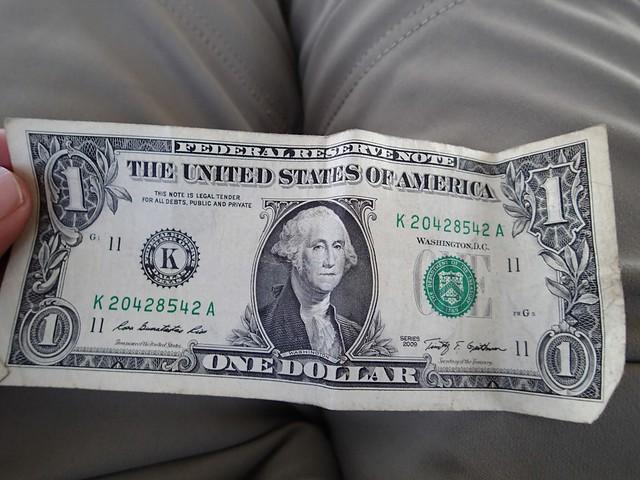 US One Dollar Bill