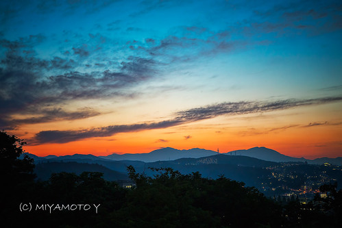 sunset sendai miyagi