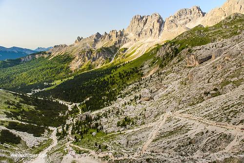 Dolomites - Val di Fassa - Vinicio Capossela at Vajolet 07