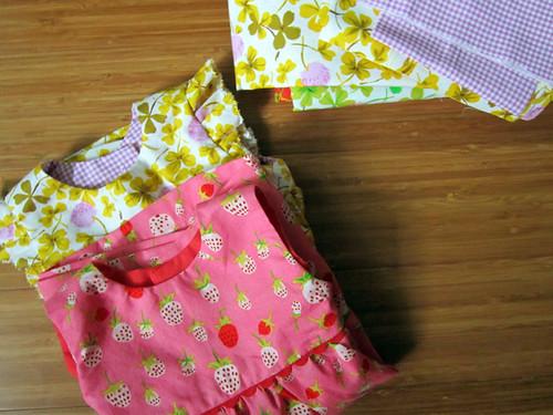 Geranium dresses