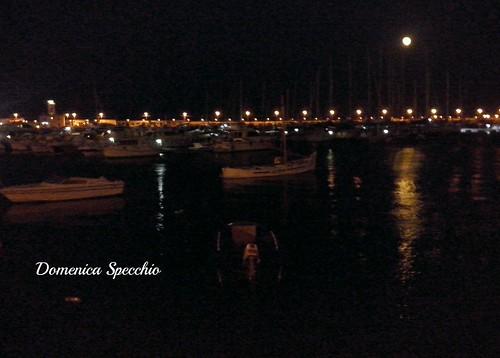luna piena su Manfredonia! by Domenica Specchio