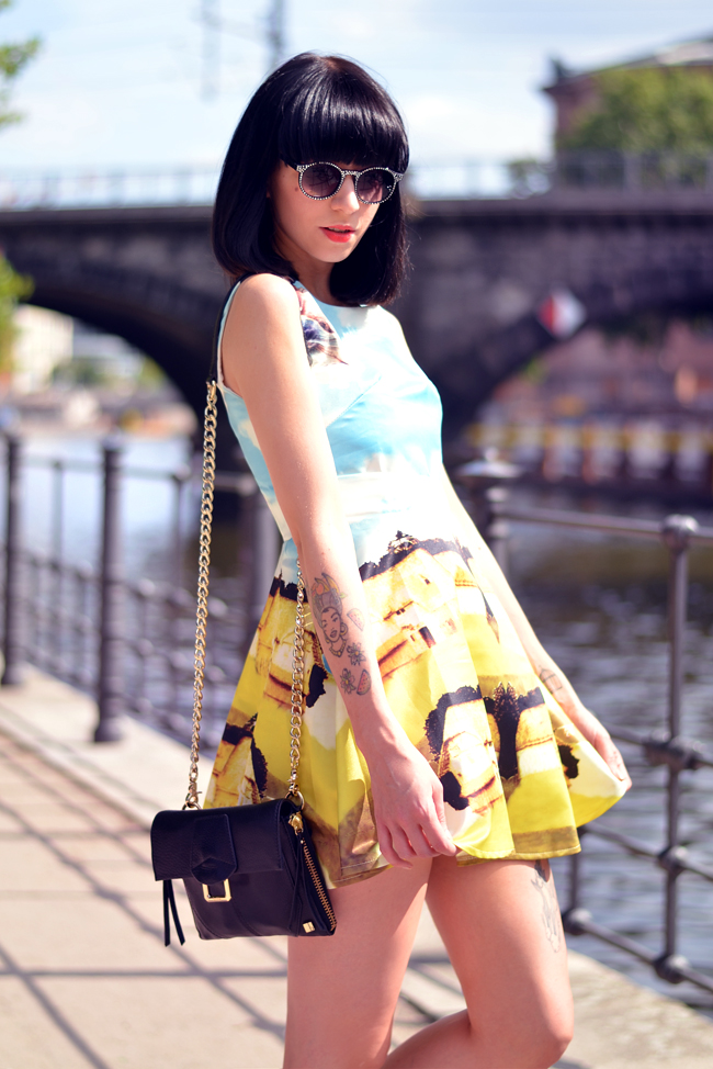 Chicwish dress Berlin Mitte Outfit 8