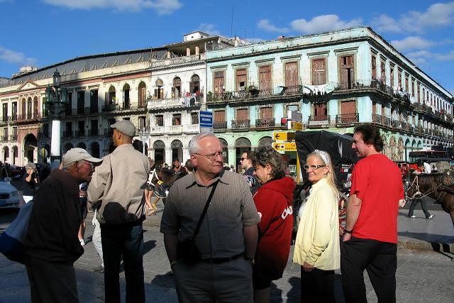 Baby Boomers visiting Havana