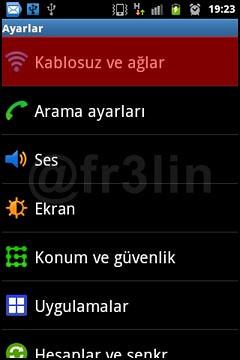 Android Cihazı Modem Olarak Kullanmak-2