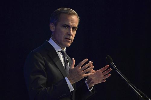 Марк Карни, глава Банка Англии во время выступления 28 августа 2013