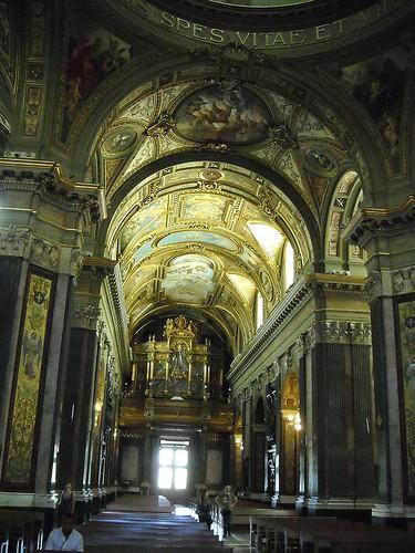 Organ - Sanctuary of the Virgin of Rosary at Pompeii (1876-1891) - Architect Antonio Cua