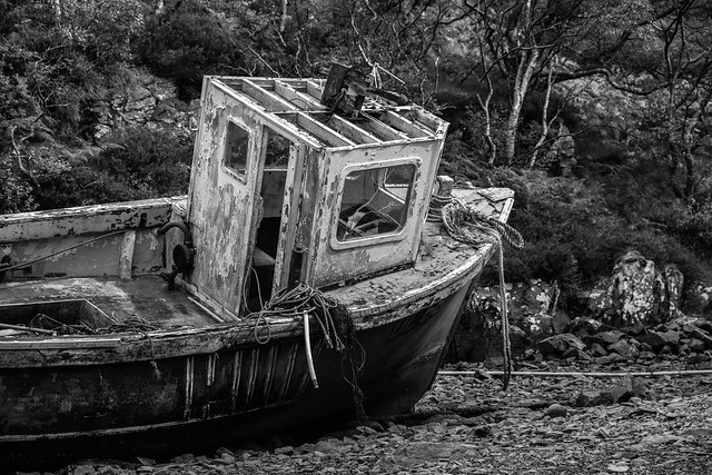 The Abandoned Fishing Ship