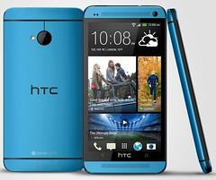 HTC One Голубой
