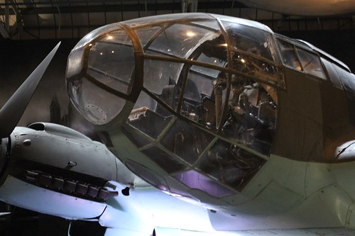 """RAF Museum: particolare di """"muso"""" di aereo"""