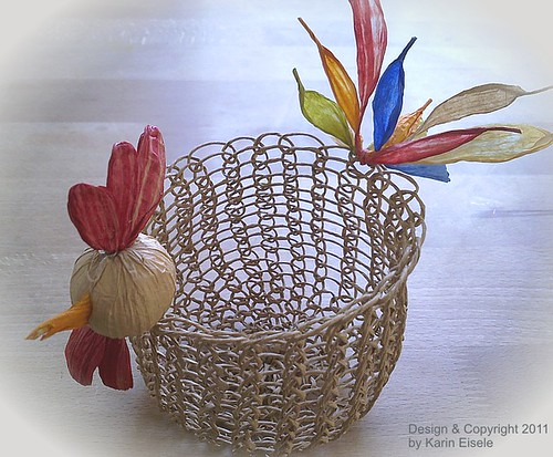 paper twine chicken basket