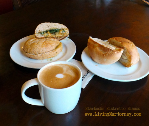 Starbucks' Ristretto Bianco and New Breakfast Sandwiches