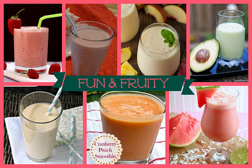 Fun and Fruity Smoothie Recipes | cupcakesandkalechips.com | #smoothies #smoothie #smoothierecipes