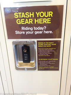 Bike gear lockers at New Seasons-2