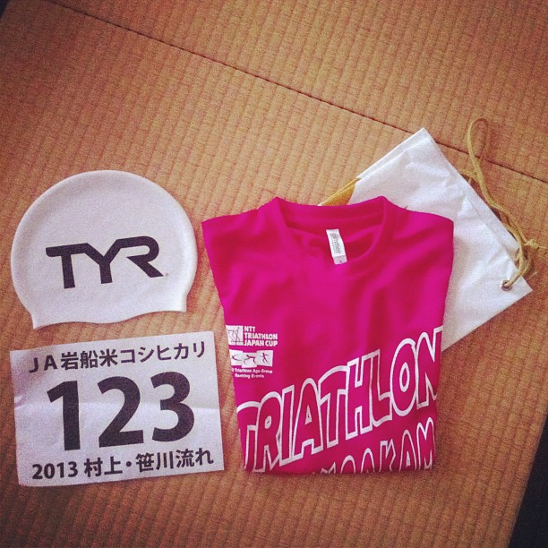 I'm lucky number 123! #triathlon
