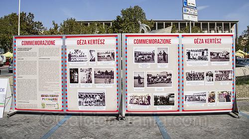 I cartelloni della commemorazione del 29/09/13 in Piazza Verga