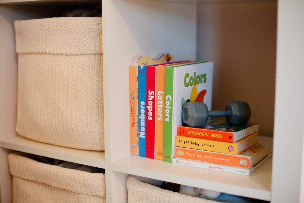 Master Bedroom Nursery makeover-1 - Master Bedroom + Nursery Nook by popular Florida lifestyle blogger Fresh Mommy Blog