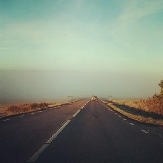Man kan säga att det ligger dimma över älven.